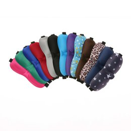Wholesale Eye Face Mask - Deep Rest Contoured Sleep Eye Mask Cover Eyeshade with Ear Plugs Carry Pouch for Travel Naps