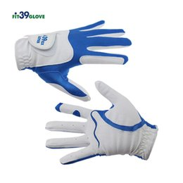 Wholesale leather gauntlet gloves - Cooyute new fit-39 golf glove men's left hand golf gloves multiple colors can choose free delivery of 5 gloves price