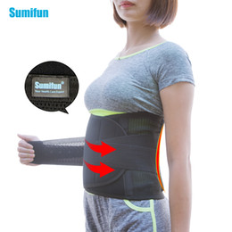 self heating magnetic therapy waist Australia - Adjustable Tourmaline Belt Self-heating Magnetic Therapy Waist Belt Lumbar Support Back Waist Support Z68601