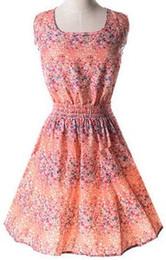 Discount dresses shipped china - Newest fashion Women Casual Dress Plus Size Cheap China Dress 17 Designs Women Clothing Sleeveless Summe Dress Free Shipping L09