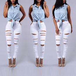 mejores pantalones de hip hop Rebajas Venta al por mayor - mejor venta otoño invierno Europa y los pantalones vaqueros del hip hop streetwear de los pantalones vaqueros de los Estados Unidos