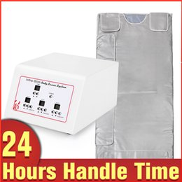 Wholesale Infrared Sauna Zone - Hot Sale 3 Zone Detox Sauna Blanket Far Infrared Ray Keep Health Beauty Portable Slimming machine