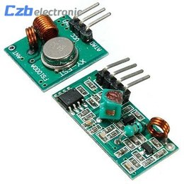 Transmisor de 315 mhz receptor online-Kit de enlace de transmisor y receptor de RF de 315 MHz para Arduino / ARM / MCU WL