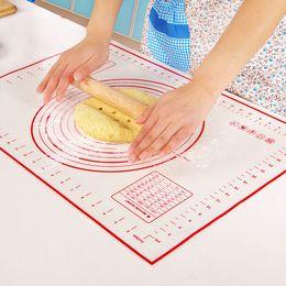 itens de gadgets por atacado Desconto Non Stick Silicone Baking Mat Amassar Massa Mat Baking Rolling pastelaria Mat Bakeware Liners Pads Cozinhar Ferramentas