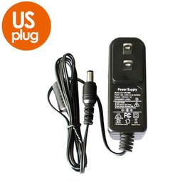 Мощность 12v cctv онлайн-12V 1A AC 100V-240V конвертер адаптер DC 12V 1A1000MA CE UL стандартный источник питания EU UK AU Us Plug 5.5 mm x 2.1 mm для камеры видеонаблюдения