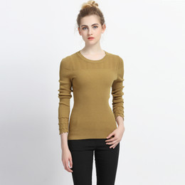0c7e03b81e65 [CHENS SISTER] Women Slim Sexy Tight Bottoming Knitted Pullovers High  Elastic Solid O-neck Long Sleeve Winter Sweater sexy women tight sweaters  on sale