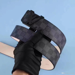 Canada Cadeau de noël En cuir véritable designer ceintures hommes de haute qualité Jaguar boucle lisse ceinture masculine large bande business ceintures pour hommes cinturo Offre
