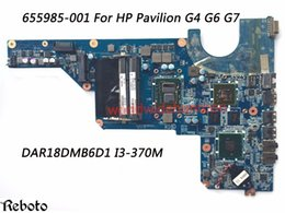 Wholesale Motherboard For Hp G6 - Superior Quality Motherboard For HP Pavilion G4 G6 G7 Motherboard DAR18DMB6D1 i3-370M GT520M DDR3 100% Fully Tested