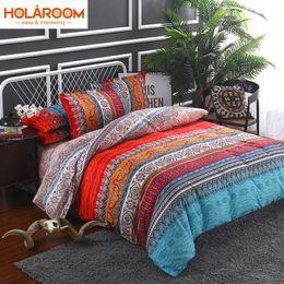 Wholesale Baby Bedding Comforters - Bohemian 3d comforter bedding sets 3 4pcs Mandala duvet cover set winter Flat sheet Pillowcase Twin Full Queen king jumbo size