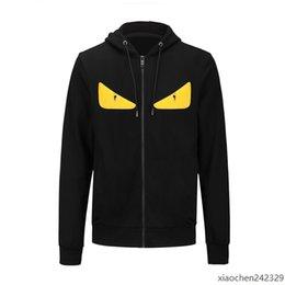 Wholesale Eye Print Sweatshirt - Fashion Men Hoodie Little monsters eyes printing Sweatshirt Men Autumn Mens Hoodies Sweatshirts O-Nekc Casual Brand-Clothing M-XXXL