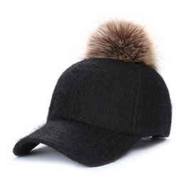 8948b4aed20 korean grey winter cap Promo Codes - Winter Hat Korean Version Of the Female  Wool Ball