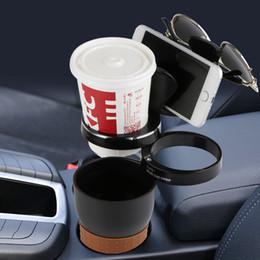 porta moneta automatica Sconti Car Organizer Car Phone Holder Multi Function Auto Occhiali da sole Drink Cup Holder per monete chiavi Stand del telefono Auto-styling universale