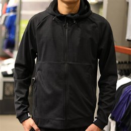 Wholesale Men Plain Hoodies - Brand Designer Luxury Mens Sports Hoodies Zipper Cool Fashion Black Loose Big Solid Plain Long Sleeve Casual Spring Autumn Hoodies