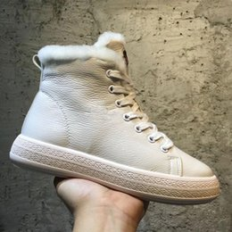 Wholesale Roman Lines - 2018 High Top Leisure Casual Boost Wedge Boot Fur Lining Warm Snow Boots for women