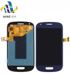 s4 écran tactile remplacements Promotion Convertisseur analogique-numérique d'écran tactile d'affichage de remplacement pour Samsung S3 S4 S5