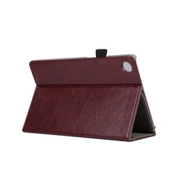 Wholesale Folding Book Holder - 30pcs Luxury Flip Book Cover PU Leather Case for Huawei Mediapad M5 8.4 inch SHT-AL09 SHT-W09 Tablet Hand Holder Grip Shell Card Slots