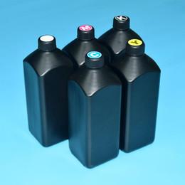 Canada Encre UV à 5 couleurs 1000 ml / pc LED universelle pour tête d'impression 1390 1400 R1390 1430 1410 R280 R290 L800 supplier uv inks Offre