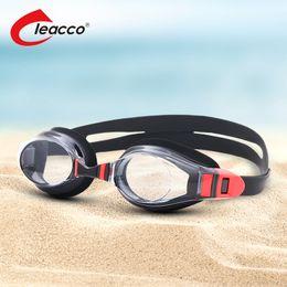 9fe7e6d670 New Prescription Anti-Fog UV Swimming Goggles Men Women Waterproof silicone  Myopia swim glasses adult Optical Swim Eyewear