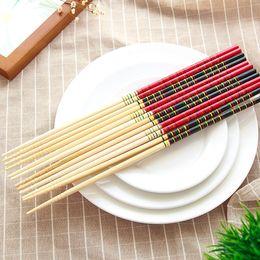 Wholesale Hot Pot Restaurant - ETYA 1 Pair Bamboo Chopsticks Super Long Cook Noodles Deep Fried Hot Pot Traditional Chinese Style Restaurant Home Kitchen