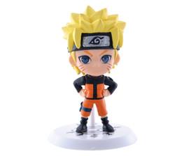 Juguetes gratis modelos 3d online-Nueva figura clásica 3D 6 unids / set Naruto PVC figura de acción juguetes conjunto completo modelo colección envío gratis