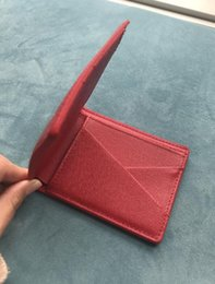 Wholesale Nice Ladies Purses - Popular 2018 Fashion Best Selling! Genuine Leather Women Short Wallet Purse Short Handbag 2 Colors For Girl Lady Nice Gift Money Bag