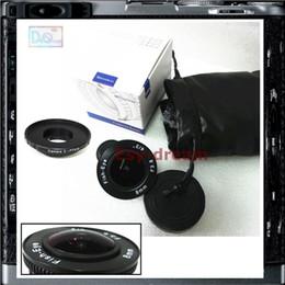 2019 c monter cctv 8mm F3.8 CCTV Grand Angle Fisheye Fish Eye + Adaptateur C pour Pentax PentaxQ Q Q7 Q10 Q-S1 QS1 Caméra PA348 c monter cctv pas cher