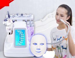 Wholesale Hydra Peel - 2018 new Powerful 8In1 Hydra Dermabrasion Machine Professional Hydro Microdermabrasion Facial Deep Cleaner Water Peel Skin Care Spa Machine
