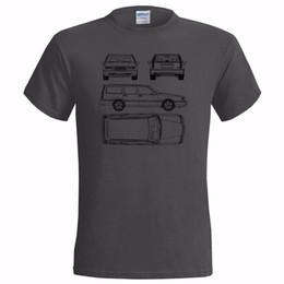 Vendita auto classica online-Maglietta classica per uomo Maglietta classica per auto svedese 850 Estate Tech Drawing Maglietta classica Maglietta estiva per auto classica
