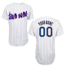 Wholesale jersey letters - Custom personalized Jersey New York baseball jersey Embroidered letters number (all name number stitched)