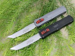nuevas navajas suizas Rebajas Oferta especial Andy Fabricación Paladin Bat Cuchillo táctico AUTO D2 Satin Tanto Blade 6061 Mango EDC Navajas de bolsillo con herramienta de reparación