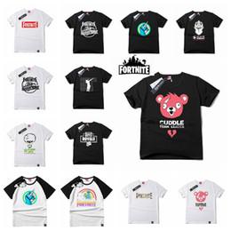 23 estilos Novo Design Fortnite T camisas Grandes Dos Miúdos Estudante Mens  Fortnite Impresso Algodão de Manga Curta Respirável Tshirt Mens camiseta  MMA595 ... 0d2461c5e16e5