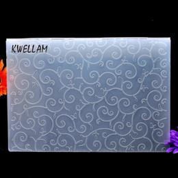 Album di carta plastica online-Cartella goffratura plastica per album formato A4 per album album in plastica strumento di plastica 29.7x21cm KW691064