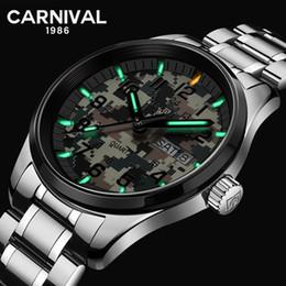 2019 montres tactiques Carnaval Quartz Montre Homme T25 Tritium Luminescence Militaire Tactique Saphir En Acier Inoxydable Camouflage Horloge promotion montres tactiques