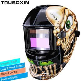 Wholesale ground controls - Out Control Solar Automatic Darken Shading Grind Polish TIG MIG MMA ARC Welding Mask Helmet Welder Glasses for Welder