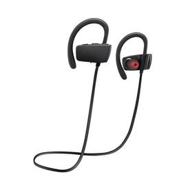 Сенсорный портативный шейным ремнем шумоподавления стерео гарнитура Спорт в ухо Наушники Наушники работает беспроводной bluetooth 4.1 наушники для iPhone от