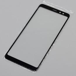 2019 мобильные телефоны wiko Для Samsung Galaxy A8 2018 Замена ЖК-Фронт Сенсорный Экран Стеклянная Крышка Объектива для Samsung A8 Plus 2018 Чехлы