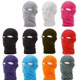 2019 воздушный шарф MTB велосипед Велоспорт маски для лица Открытый глава шеи подшлемник полный Маска крышка шляпы защиты мульти цвета