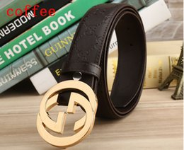 Wholesale choose real - High quality Newest brand designer real leather belt men women luxury Aolly smooth buckle belts casual waistband without box 6 colors chose