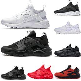 newest 608dd be249 nike air huarache shoes Vendita calda Huarache 1.0 4.0 scarpe da corsa  Triple bianco nero rosso scarpe da ginnastica per uomo e donna scarpe  firmate ...