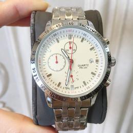 3bff79ec1 2019 Elegante Grabado Vestido de Lujo para Hombre Reloj de cuarzo Moda de  Acero Inoxidable Nuevo masculino Relojes de pulsera de plata reloj  deportivo de ...