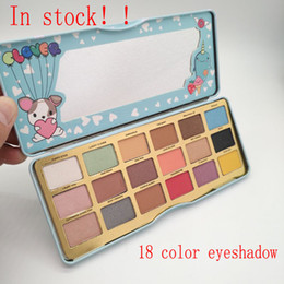 Wholesale Best Matte Eyeshadow - NEW HOT Makeup Faced Clover A Girl's Best Friend Eye Shadow Palette 18 Color Eyeshadow plates free delivery