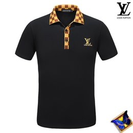 Wholesale foreign short sleeve - 2018 polo shirts red men fashion Product Summer tiger printing Body Short Sleeve Show Solicitude Foreign Trade Round Neck European