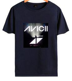 dj vestindo Desconto DJ Avicii Impressão de Verão T-shirt Das Mulheres Dos Homens de Manga Curta Casual Tees Amantes Respirável Solto Tshirt Masculino Moda Desgaste Top Tees