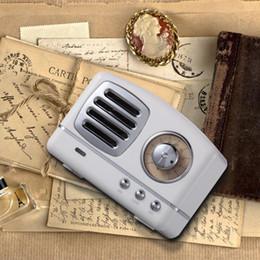 emballage de disque Promotion Rétro Mini Portable Bluetooth Haut-Parleur Subwoofer Basse Lourde Multimédia Radio U disque TF FM Mains Libres Avec Paquet Au Détail Pour Samsung MIS189