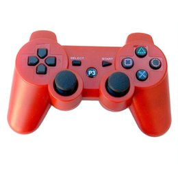 Wholesale Ps Station - Gamepad Joystick For PS3 Controller Sony Playstation 3 console Wireless Bluetooth gamepad for play station 3 PS