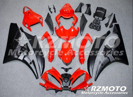 Wholesale Motorcycle Plastic Yamaha R6 - New Injection Mold ABS Fairings For Yamaha YZF600 R6 Year 06 07 2006 2007 ABS Plastics Motorcycle Fairing Kit Bodywork Cowling red black