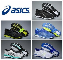 Wholesale New Boots For Men - 2018 Wholesale Price Asics Gel-kayano 24 Running Shoes For Men New Style Sneakers Athletic Boots Sport Shoes Eur Size 36-44