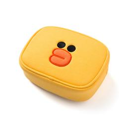 Bolso cosmético del bolso de maquillaje del bolso de embrague lindo caliente del bowknot para el uso del organizador y del artículo de tocador del maquillaje del viaje desde fabricantes