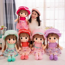 Wholesale Diy Nano - 5 Colors Cute Lovely flower fairy Plush Toys Dolls Dreamland Plush Toy Children Toys Girls Gifts Present With Beautiful Handcrafted Dress Fr