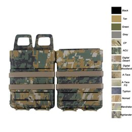 Canada Tactique Airsoft chasse FAST MAG Boîtier Accessoire FAST Magazine Holster Set Molle Mag Clip 5.56 Rapide Mag Magazine Pouch SO06-102 supplier tactical vest accessories Offre